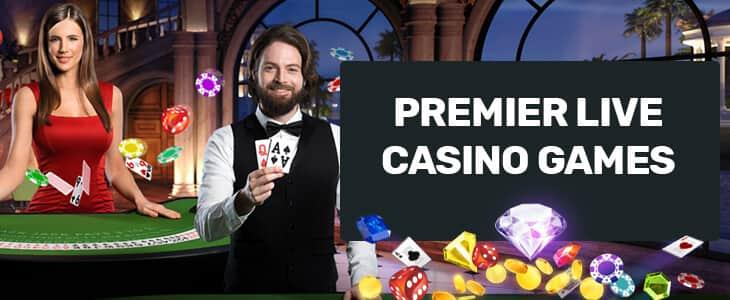 Premier Live Casino Games